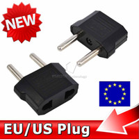 Wholesale US to EU AC Power Plug Home Travel Converter Universal AU US UK Europe EURO Wall charger Jack Connector Socket Adapter Adaptor