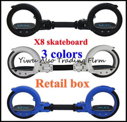 Wholesale 10set Boy gift x8 limit extreme sport skateboard skatecycle x8 fashion pulley two wheel scooter