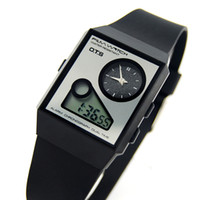 Unisex Square Wristwatches New Arrival AUDI Ots mv , Watch Ultra-thin Dual Display Free Shipping Wholesale