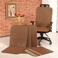 Wholesale Double faced yuzheng rattan seats mat cushion office chair dining chair liangdian summer slip resistant