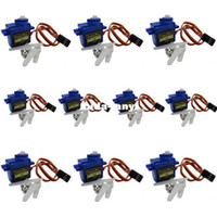 Antennas airplane motors - 10pcs TowerPro micro servo motor SG90 G for Align Trex RC Robot Helicopter Airplane controls kg