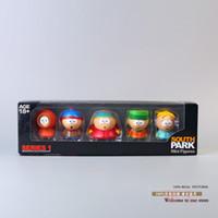Roles big kenny - 50sets EMS South Park Stan Kyle Eric Kenny Leopard Mini PVC Action Figure Toys set OTFG024