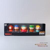 big kenny - South Park Stan Kyle Eric Kenny Leopard Mini PVC Action Figure Toys set OTFG024