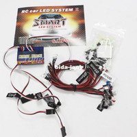 Antennas track lighting system - G T POWER RC CAR Smart FLASHING light LED System support PPM FM FS G System with tracking number