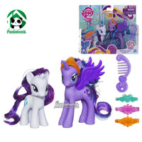 Wholesale Original Hasbro My Little Pony Figure In Original Box Princess Luna and Rarity anime horses unique toys for children