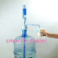 0 06D0017  Free Shipping 5 Gallon Electric Pump Hand Dispenser Water Bottle