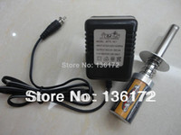 Wholesale RC Nitro car tool Nitro Gas engine glow starter with rechargeable battery and charger