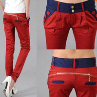 Wholesale Newest Style Women s Long Fashion pencil Trousers Ol Ladies Pants harem pants