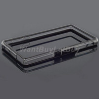 For Sony Ericsson   Silicone and Plastic Assembly Bumper Case for Sony Xperia Z L36h C6603 C6602