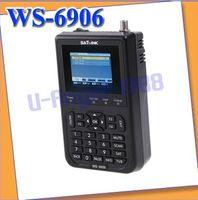 Wholesale e Newest Satlink WS DVB S FTA Digital Satellite Finder Meter TV Signal Receiver For setting amp aligning