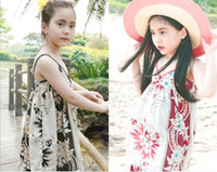 Wholesale China Brand Children Clothing Good Quality Summer Girl Bohemian Beach Dress Kids Gallus Dresses Fress Shipping GX279