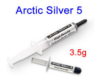 Arctic silver 5 arctic silver thermal - High Density thermal compound Grease tube Arctic Silver for cooling CPU and GPU temperature