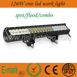 Wholesale high quality W LM Off road CREE LED Light bar V V for ATV x4 Jeep WD Offroad Tractor Marine Truck LED LIGHTS