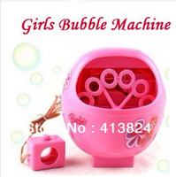 Good day toy Pink Unisex Free Shipping Super Original Automatic Bubble Machine,Electric Girls Pink Bubble Machine Toy Gift for girls