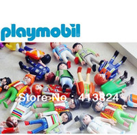 Wholesale pack germany original Playmobil Knights people horse figures kids mobil toys random send