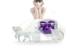 Wholesale Fairy Tale carriage transparent wedding favour boxes gift box sweet box