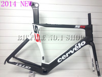 Wholesale new cervelo S5 VWD black white carbon road bike bicycle frame fit ultegra groupset Campagnolo sram red colnago m10 c59 de rosa look