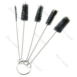 Wholesale set Tattoo Cleaning Brush Kit Tip For Tube Machine Grip Airbrush Spray Gun