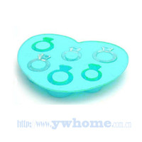 Wholesale New Colors love ice ring lattice Tray Ice Cream Mold Popsicle Maker kitchen Tool
