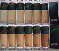 Wholesale 25PCS Liquid Foundation STUDIO FIX FLUID SPF15 DIFFERENT COLORS ML