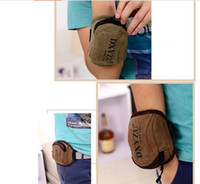Wholesale Top Quality Sports bag Canvas Outdoor Cycling Sports Running Wrist Pouch Mobile Cell Phone Arm Band Bag Wallet