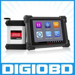 Wholesale 100 Original AUTEL MaxiSYS Pro MS908P AUTEL MaxiDas Maxisys pro DS708 Diagnostic System with WiFi for programming ecu