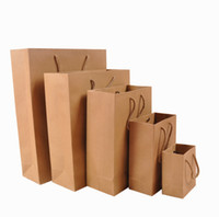 Shopping Bags shopping bags paper - 20 Piece No Printing Brown paper bag Shopping Bags Size x x mm