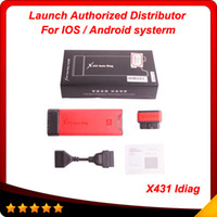 Wholesale 2014 Launch X431 iDiag Auto Diag Scanner for iPhone iOS original X AutoDiag High recommand obd03