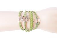 3PCS Fashion Infinity Heart Anchor Wheel Charm Friendship Br...