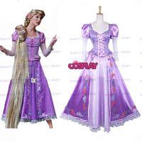 TV & Movie Costumes beautiful people tv - Hot Sale Custom made Custom made Beautiful Rapunzel Princess Dress Cosplay Christmas Costume