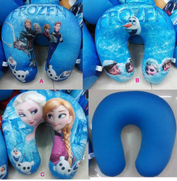 Wholesale New arrival Fashion Children and Adult Frozen Pillows Elsa Anna Olaf Sven Hans soft Foam particles pillow Cushion