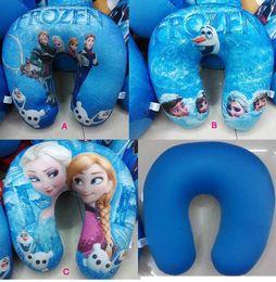 Wholesale New arrival Fashion Children and Adult Frozen Pillows Elsa Anna Olaf Sven Hans soft Foam particles pillow Cushion