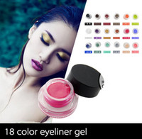 Wholesale Oil Free Formula Defined Look Eye Studio Long Wear Lasting Drama D Waterproof Intense Color Gel Eyeliner
