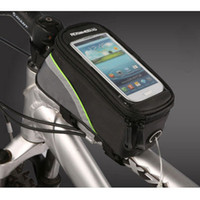Wholesale S5Q New Cycling Bike Bicycle Frame Pannier Front Tube Bag Case For Cell Phone AAABAR