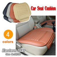 bamboo cushion cover - Car seat cushion slip resistant cushion bamboo charcoal cushion four seasons comfortable fashion seat cover
