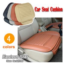 Car seat cushion slip-resistant cushion bamboo charcoal cushion four seasons comfortable fashion seat cover