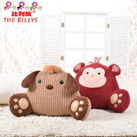 Wholesale Cute animal cushion cute pillow decorate for sofa animal toys bedding home decors computer office chair styles