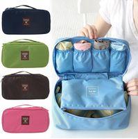 Wholesale Bras Underwear Socks Storage Organize Lingerie Brassiere Underpants Briefs Store Tourism Travel Goods Tour For Women Box Bag Gift FG16007
