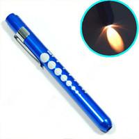 Wholesale Blue Penlight Pen Light Torch Medical EMT Surgical First Aid
