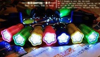 Wholesale Plum key chain led flashlight super bright flashlight mini flashlight