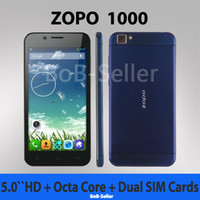 Zopo 5.0 Android Original ZOPO ZP1000 MTK6592 Octa Core Cell Mobile Phone 5.0Inch IPS Thin 5mp + 14mp Camera 1.7GHZ CPU android 4.2 Dual sim OTG