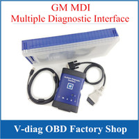 Wholesale GM MDI Auto Scanner Multiple Diagnostic Interface MDI Car diagnostic tool with multi language freeshipping DHL