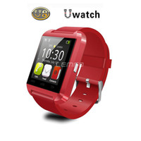 Cheap Bluetooth Smart Watch Wrist Watch U8 U Watch Smart watches for iPhone 4 4S 5 5S Samsung S4 S5 Note 2 Note 3 HTC Android Phone Smart phones