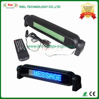 Blue car led message display - 12V CAR LED LIGHT SIGN ADVERTISING MESSAGE SCROLLING BOARD DISPLAY REMOTE CONTROL Blue color