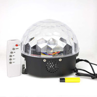 Wholesale LED Crystal Magic Ball Light XL LED Effect Stage Light LED RGB Rotating Lamp For Party Disco DJ Bar Newest