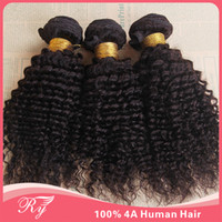 Wholesale products human hair cheap brazilian hair bundle A brazilian kinky curly virgin inch hair extensions ryhair