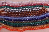 DIY Surtido 10mm Perlas de Crystal cristal facetado flojo de los granos de Rondelle Envío gratis ZBE212