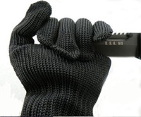 Wholesale Protective Gloves Cut resistant Anti Abrasion Safety Cut Resistant Level Gloves High Quality