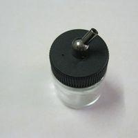 Wholesale Airbrush Air Brush Glass Bottle Jar Standard Suction Lid Pump Spray Top