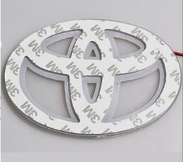 Wholesale LED Car Decal Logo Tail Light Badge Emblem Sticker Lamp for Toyota